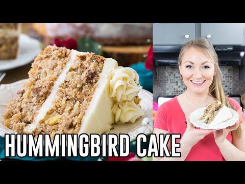 How To Make Hummingbird Cake