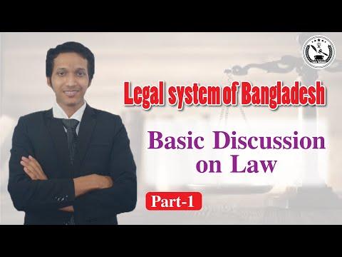 Basic Discussion On Law | Legal System Of Bangladesh | Jubayer Chowdhury | Law School  - 39 |