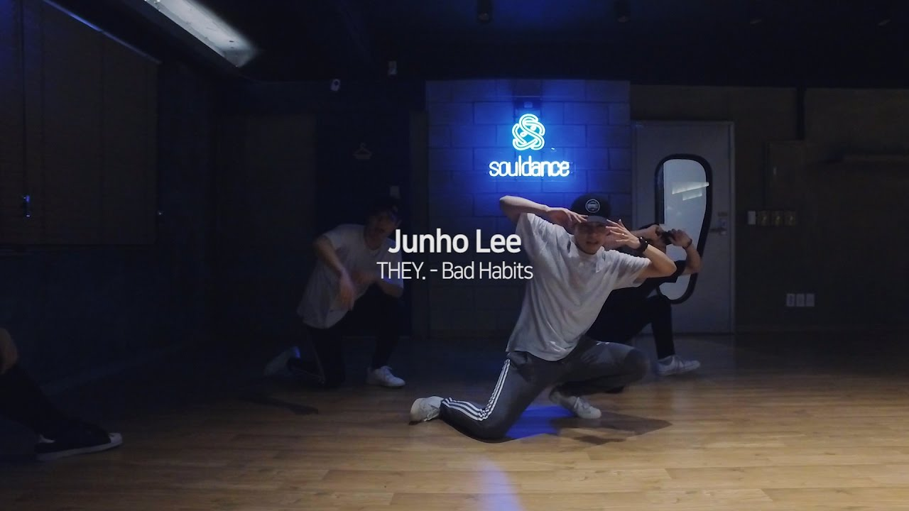"""JUNHO LEE Class """"Bad Habits by THEY."""" - YouTube"""