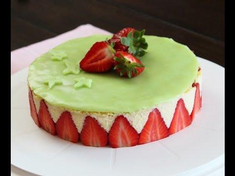 recette-du-fraisier-/-fraisier-cake-recipe-/-فريزيي-:-كعكة-الفراولة