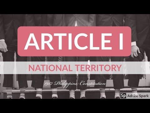 Article I - 1987 Philippine Constitution - Audio Codal