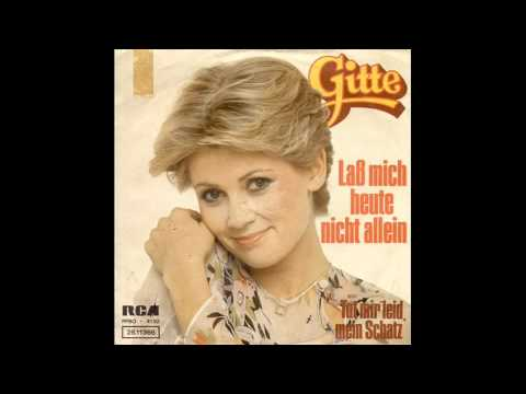 Gitte Haenning - Lass mich heute nicht allein 1976