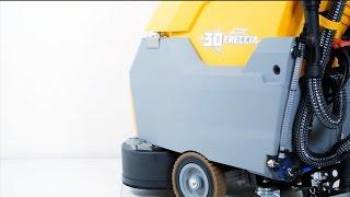 видео Поломоечная машина Ghibli Freccia 15 M 38 HYBRID