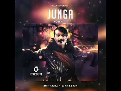 Junga Mass BGM | Vijay Sethupathi Mass Entry BGM | Cute Dubsmash & Ringtone