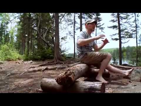 Les Stroud - Tips install your campsite