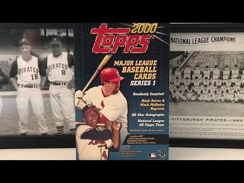 2000 Topps Baseball Hobby Box Break   Part 2!