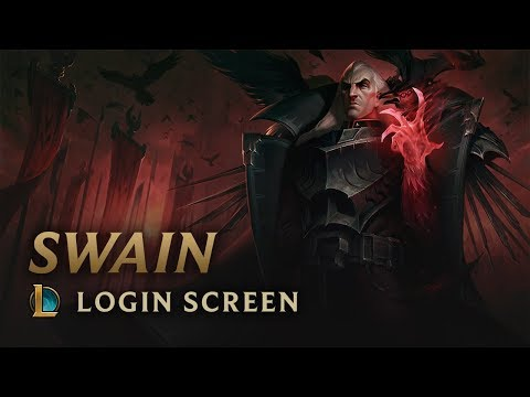 Swain, the Noxian Grand General | Login Screen - League of Legends