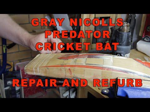 Gray Nicolls Predator Cricket Bat Repair And Refurb