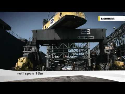 Liebherr LPS 600 Mobile Harbour Crane - Bulk Handling
