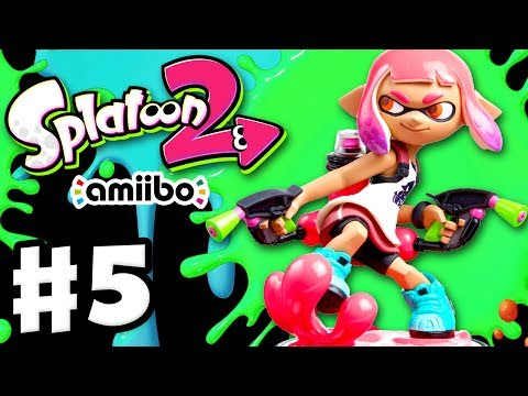 Splatoon 2 - Gameplay Walkthrough Part 5 - Scanning Splatoon 2 Amiibo Nintendo Switch