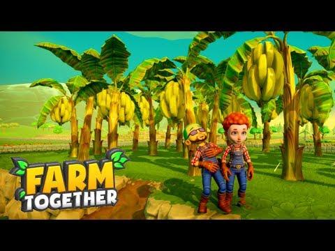 Farm Together! The Amazing Pumpkin Harvest & Banana Trees!