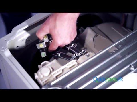 Как заменить заливной клапан в стиральной машине