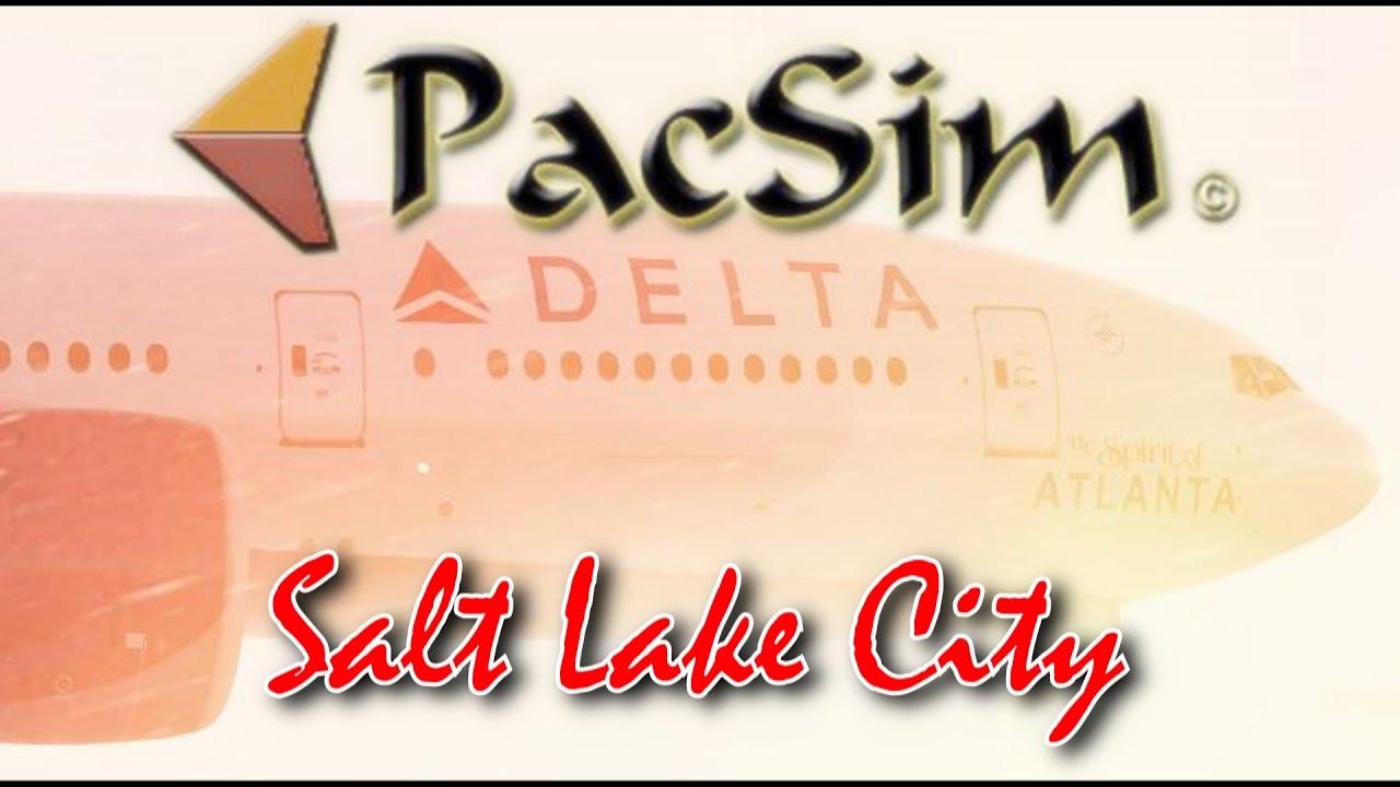 PacSim Release Salt Lake City International Scenery for FSX/P3D