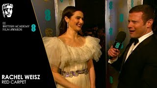 Rachel Weisz on Real-Life Story of The Favourite | EE BAFTA Film Awards 2019
