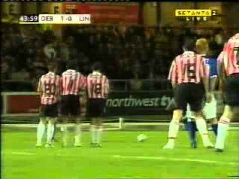 DERRY CITY Vs LINFIELD SETANTA CUP @BRANDYWELL OCT 08