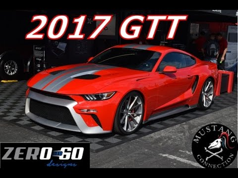 2017 GTT by Zero to 60 Designs Kenny Pfitzter transforms the S550 Mustang SEMA 2016