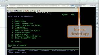 Unified Application Management - Nesting with Jacada Workspace Agent Desktop