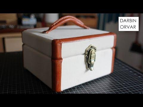 DIY Vintage-Style Keepsake Box