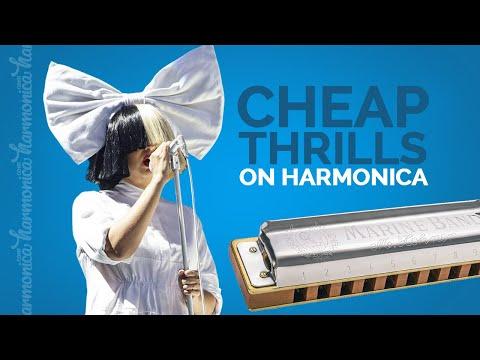 Harmonica Cover - Cheap Thrills (Sia)