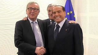EU welcomes Silvio Berlusconi as the man to save Italy from Populism