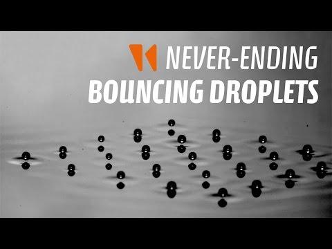 Never-ending bouncing droplets