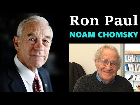 Ron Paul on Noam Chomsky & crony capitalism