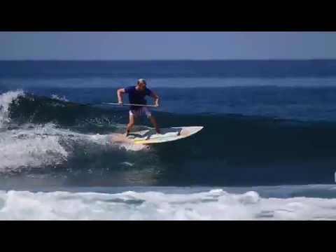 Blue Zone SUP April 2014 - Colin McPhillips & friends SUP in fun Costa Rica surf