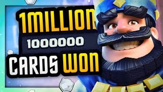 1 MILLION CHALLENGE CARDS WON!?! HOW?! WORLD RECORD in CLASH ROYALE!