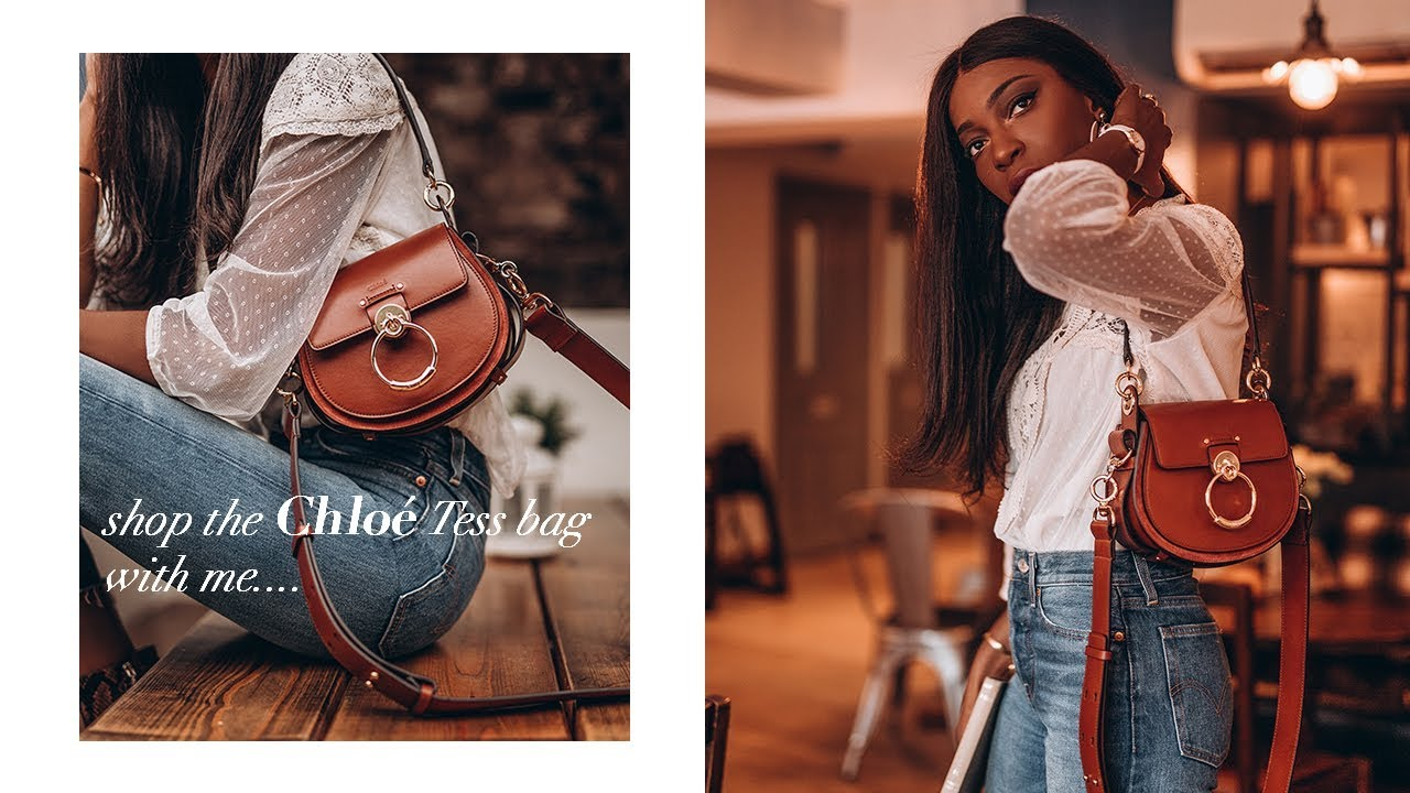 7e6747ad Shop The Chloé Tess Bag With Me and Save 15% Off + Unboxing