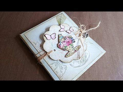 DIY: Mini Album Tea Time
