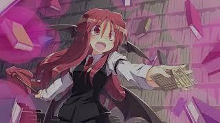 {Touhou Lyrics }  Voile, the Magic Library - Koa theme, Harou! [rus]