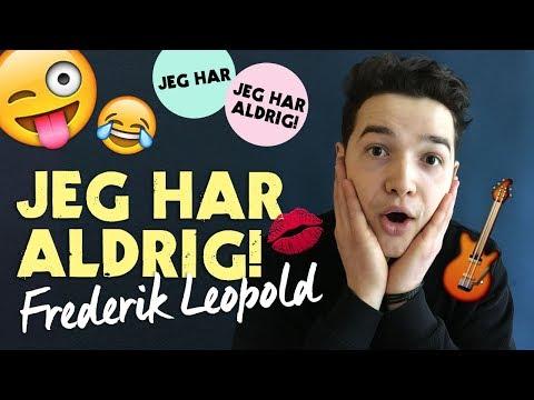 Jeg har aldrig-challenge med Frederik Leopold