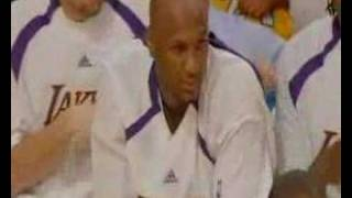 Jordan Farmar Adjusts Lamar Odom