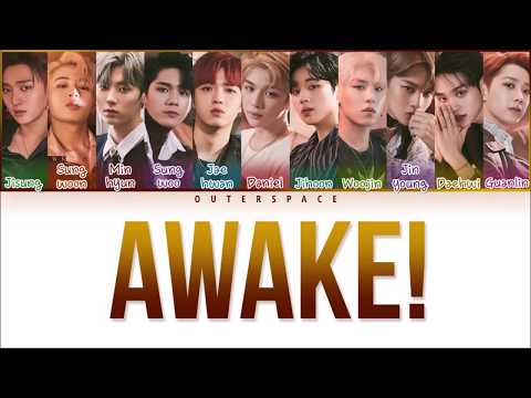 Free Download [han/rom/vietsub] Wanna One - Awake! (color Coded) Mp3 dan Mp4