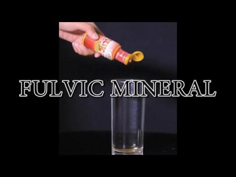 FULVIC MINERAL(FOOD FOR THE CELL)