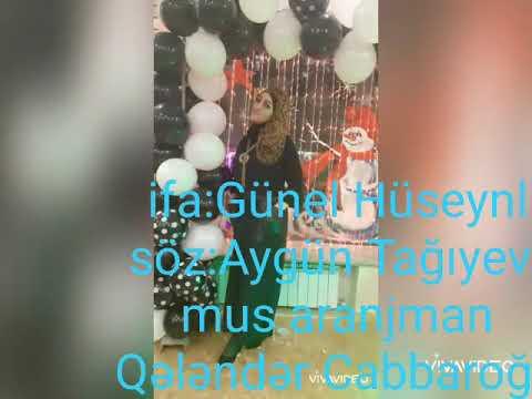 Günel Hüseynli Senli Dünyamdan Qopa Bilmədim 2020 Hit New Music