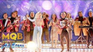 Los Ángeles Azules y Fanny Lu trajeron su cumbia a la final de #MiraQuienBaila