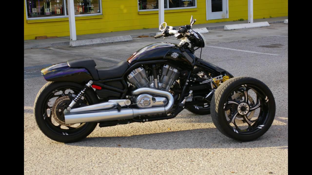 Harley Davidson Reverse Trike V-rod Vrod