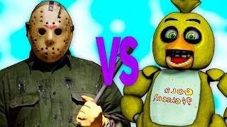 - ДЖЕЙСОН ВУРХИЗ VS ЧИКА СУПЕР РЭП БИТВА 5 Ночей С Фредди FNAF ПРОТИВ Jason Voorhees Fiday the 13th