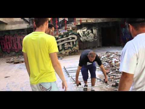 Nuteki - Backstage со съемок клипа Clowns (day One)