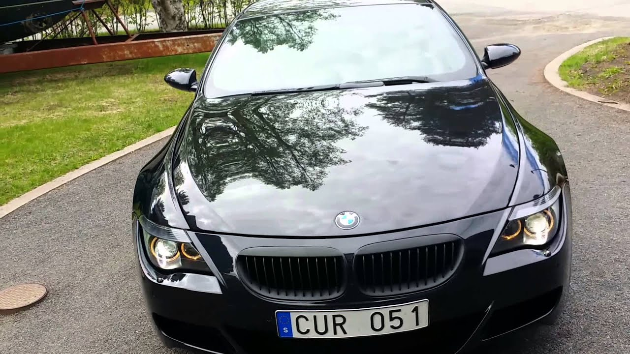 Bmw M6 2005 - YouTube