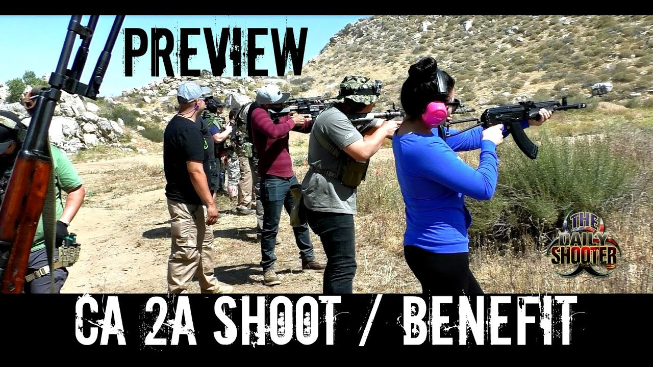 So Cal 2A Shoot / Benefit preview 2nd Amendment Supporters of California