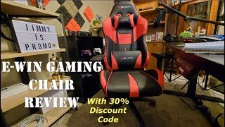 EWIN Gaming Chair REVIEW + 30% Discount Code