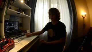 Как записать гитару дома (Очень удобный способ)