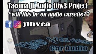 Toyota Tacoma JL Audio 10w3 Enclosure