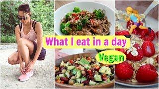 Sporttag 🏃♀️ das habe ich gegessen! Keine Shakes! Vegan 🌱 | funnypilgrim