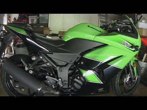 How to Inspect and Adjust Valve Clearance on a 2011 Ninja 250 Part 1 of 5