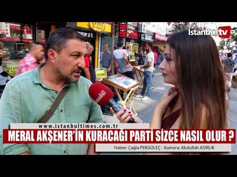 MERAL AKŞENER'İN KURACAĞI PARTİ...