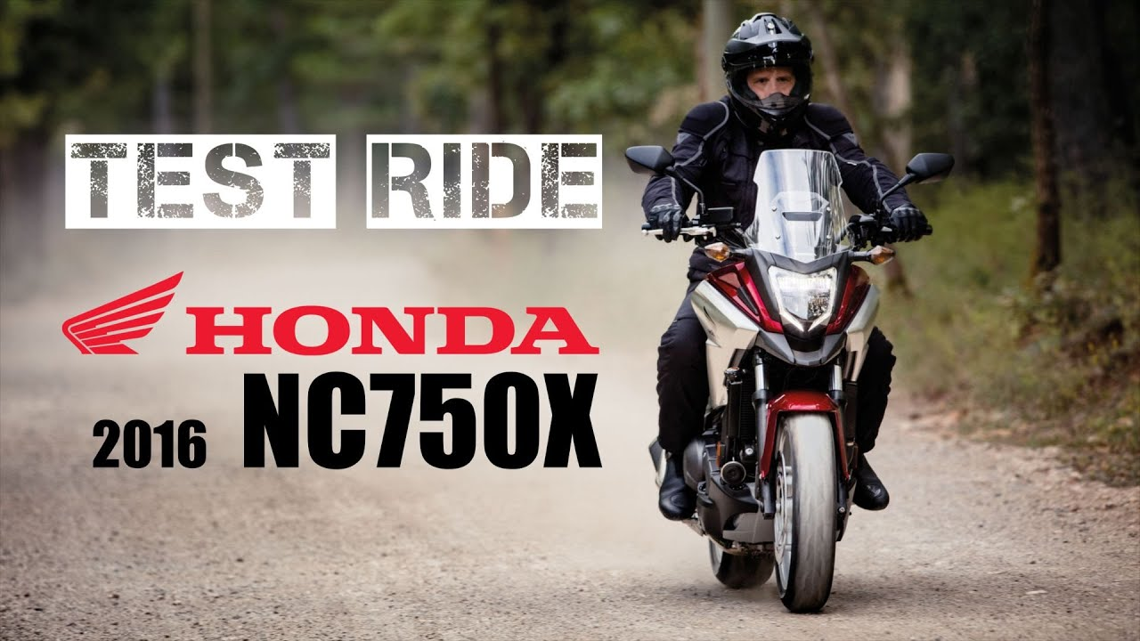 2016 honda nc750x dct test ride youtube. Black Bedroom Furniture Sets. Home Design Ideas