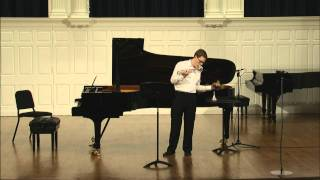 Robert Henderson - Variation Movements for solo trumpet